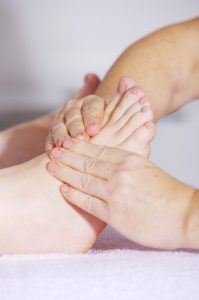 foot massage, foot reflexology, alternative medicine