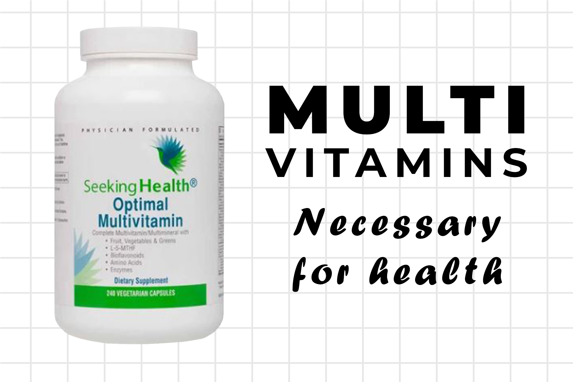 Multivitamin supplements are a must for health